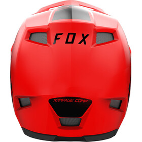Fox Rampage Comp Infin Casco Hombre, rojo